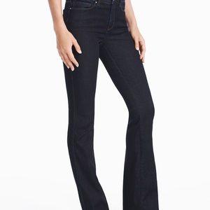 WHBM skinny flare jeans